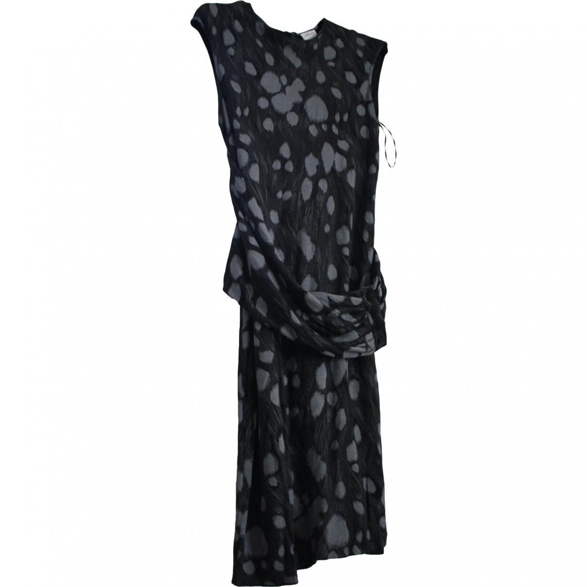 Armani Collezioni \N Multicolour Cotton dress for Women 46 IT