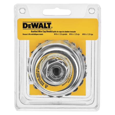 DeWalt 4 In. Knotted Cup Brush