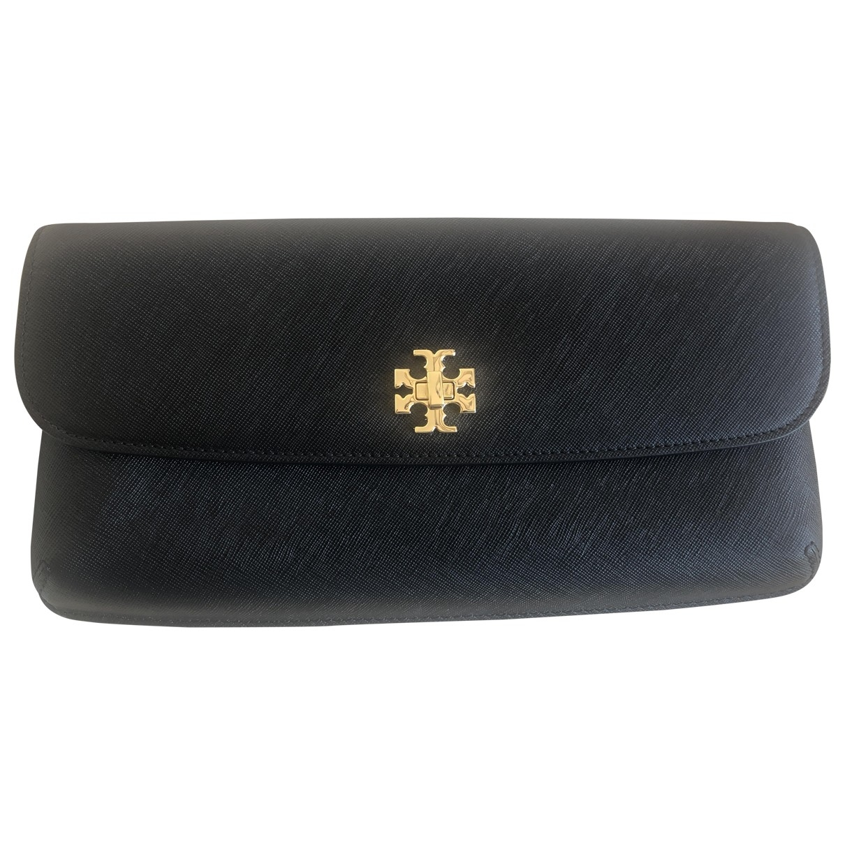 Tory Burch \N Clutch in  Schwarz Leder