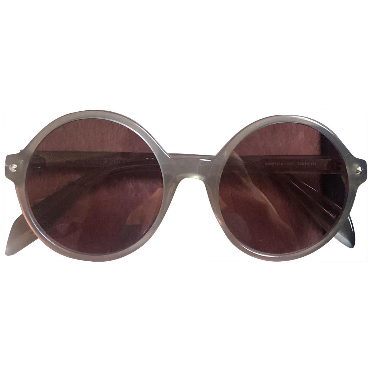 Alexander Mcqueen \N Sonnenbrillen in Kunststoff
