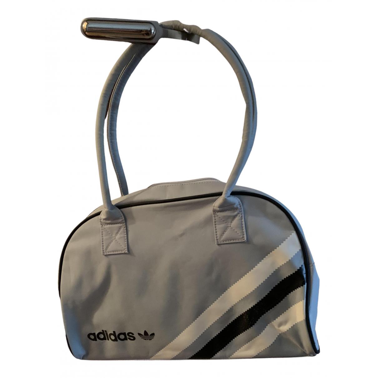 Adidas N Blue Cloth handbag for Women N