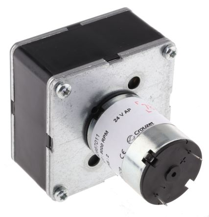 Crouzet , 24 V dc, 5 Nm, Brushed DC Geared Motor, Output Speed 34 rpm