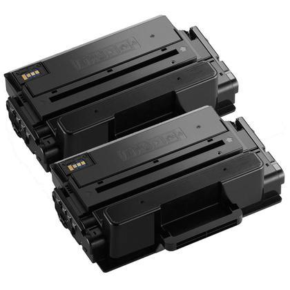 Compatible Samsung MLT-D203L Black Toner Cartridge High Yield - Economical Box - 2/Pack