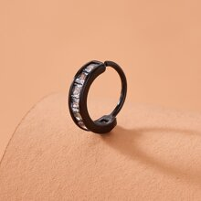 Rhinestone Decor Nose Ring