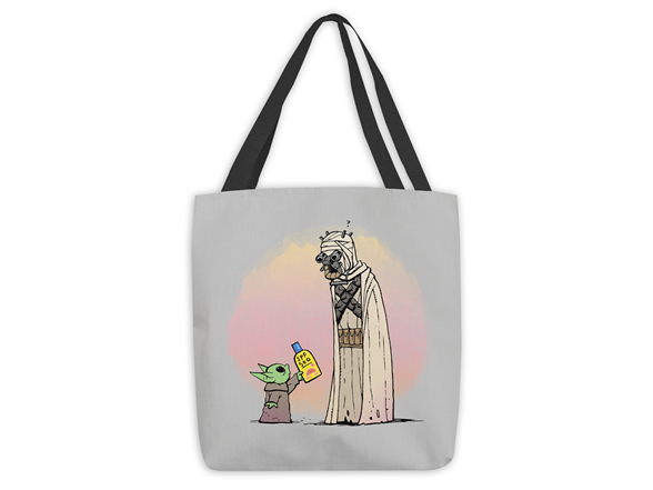Borrow My Sunscreen Medium Tote Bag Medium Tote Bag