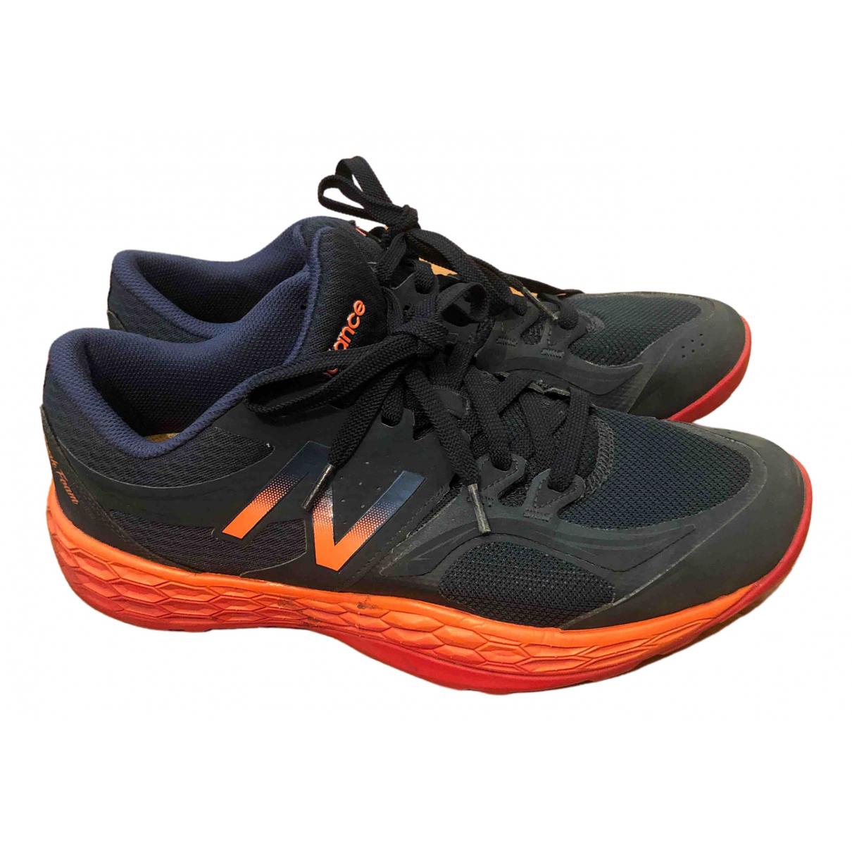 New Balance \N Sneakers in  Blau Leinen