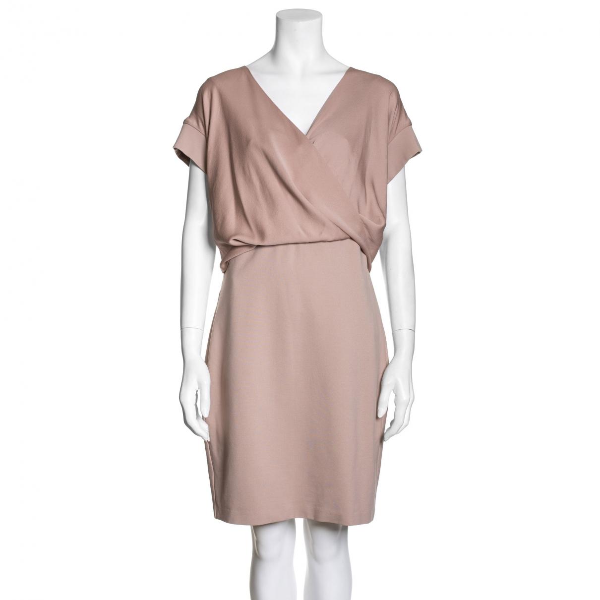 Max Mara \N Kleid in  Rosa Viskose