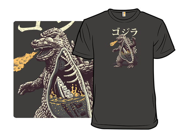 A Kaiju's Anatomy T Shirt