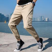 Pantalones para hombre Bolsillo Letras Calle