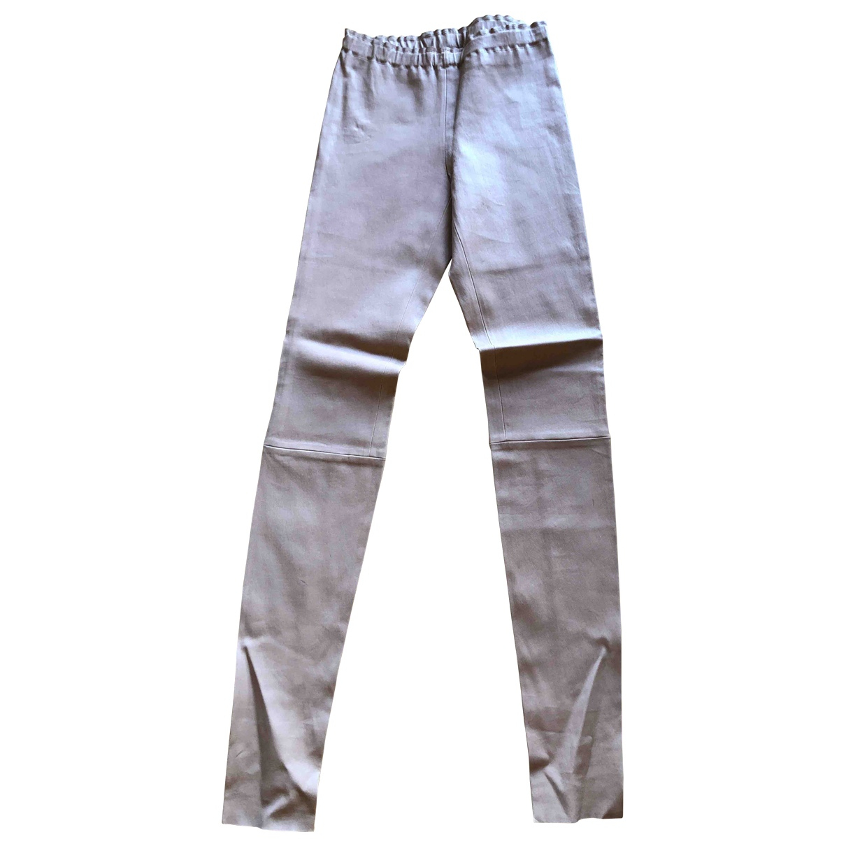 Stouls \N Leather Trousers for Women S International
