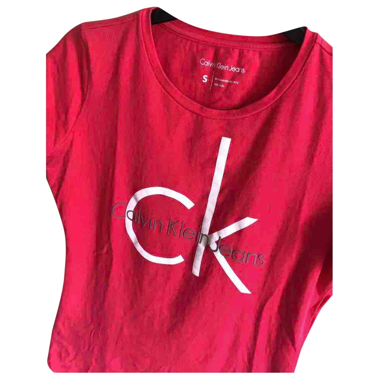 Calvin Klein \N Pink Cotton  top for Women S International