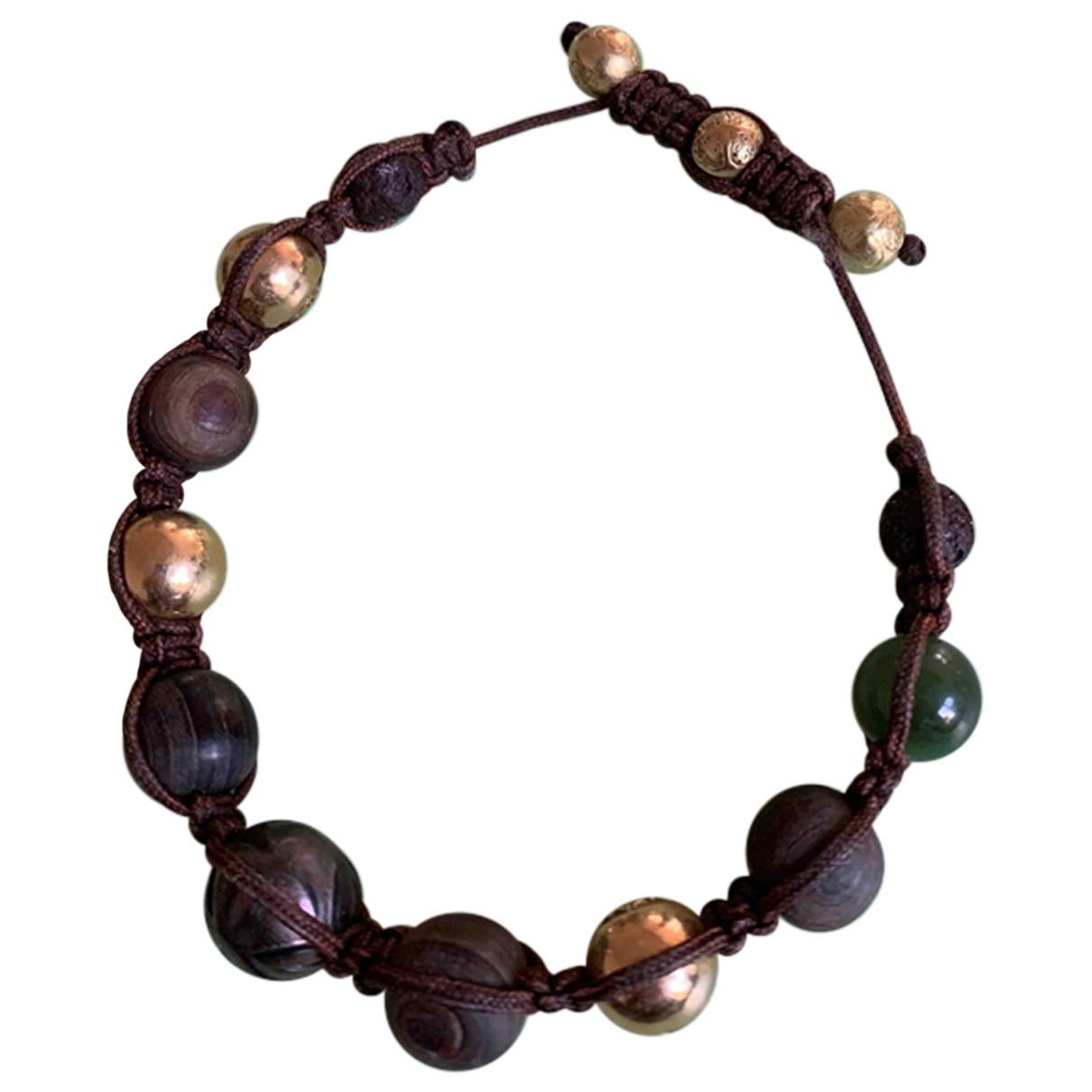 Shamballa Jewels \N Brown Pearls bracelet for Women \N