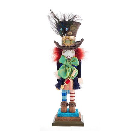 Kurt Adler 18-Inch Hollywood Mad Hatter Christmas Nutcracker, One Size , Multiple Colors
