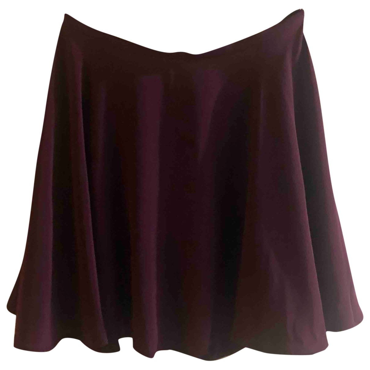 Zimmermann - Jupe   pour femme en soie - bordeaux
