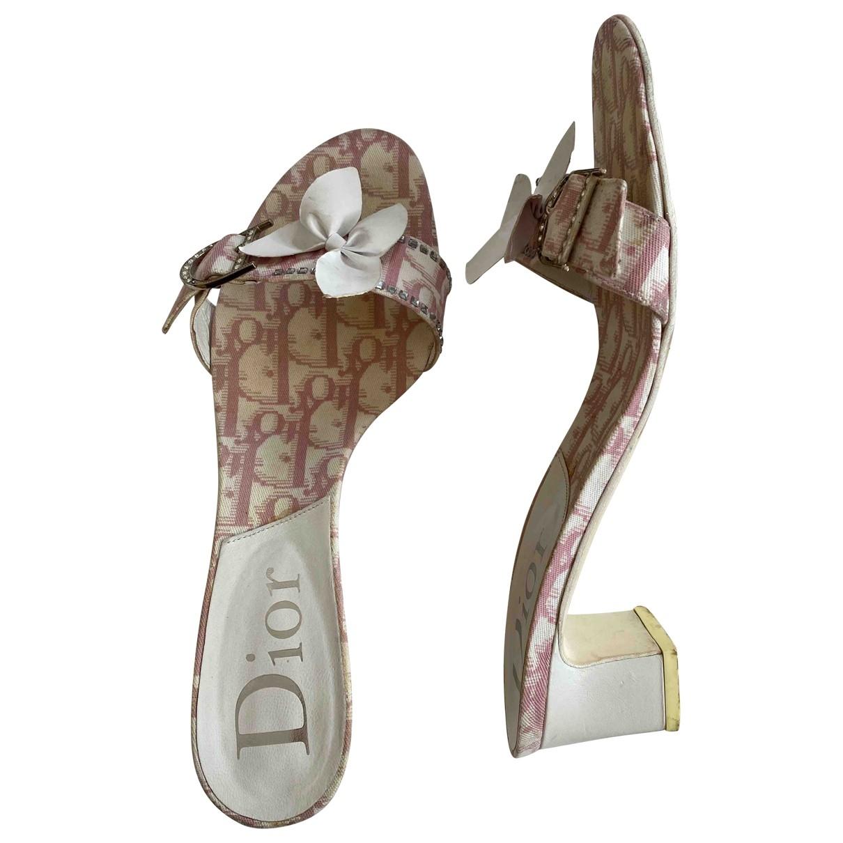 Sandalias romanas de Lona Dior