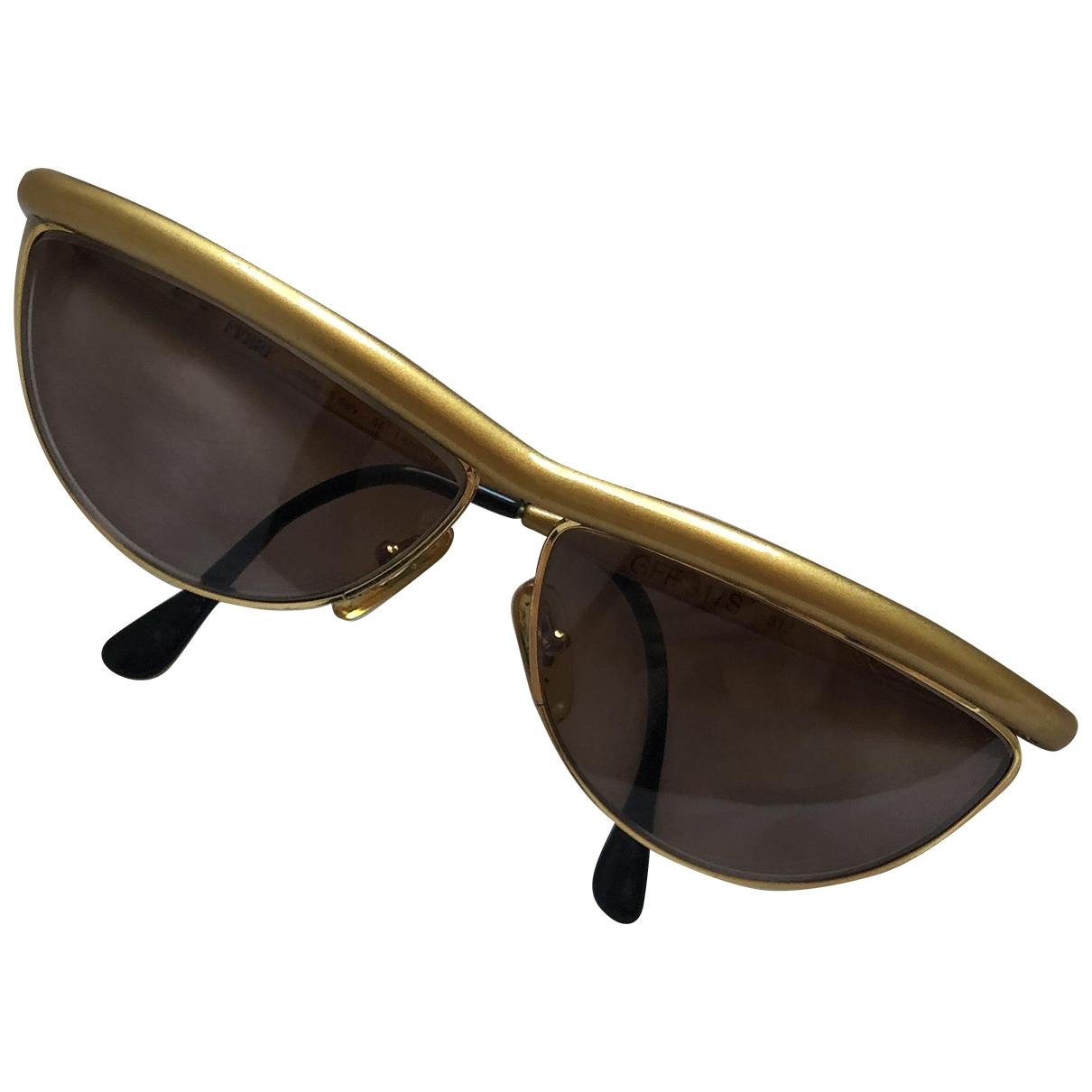 Gianfranco Ferré \N Gold Metal Sunglasses for Women \N
