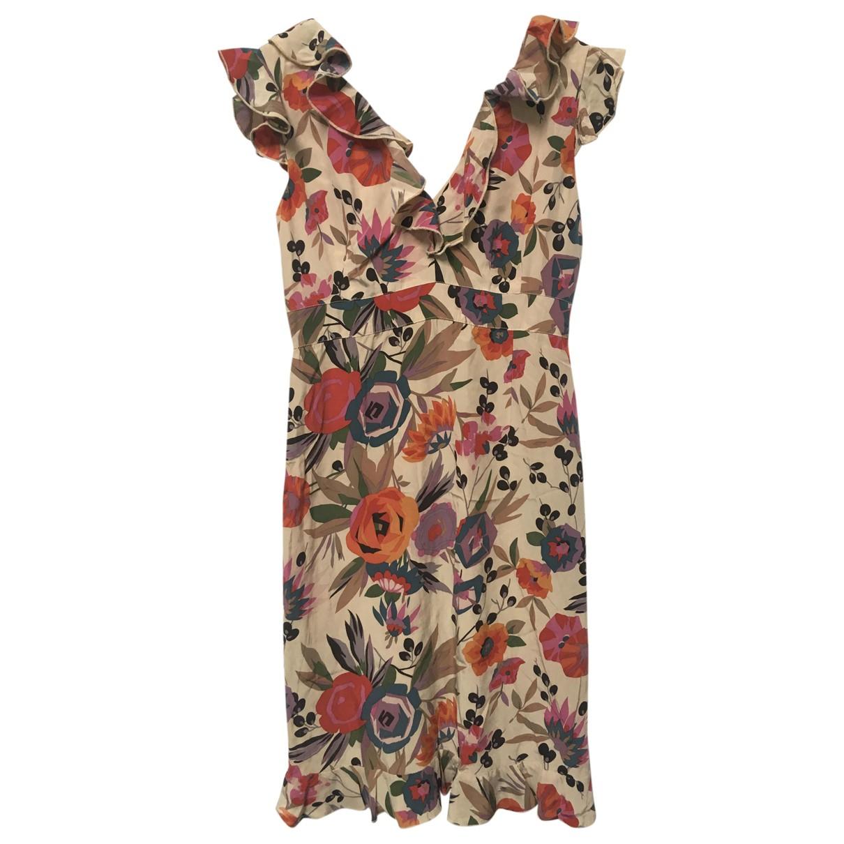 Anna Sui - Robe   pour femme en soie - multicolore