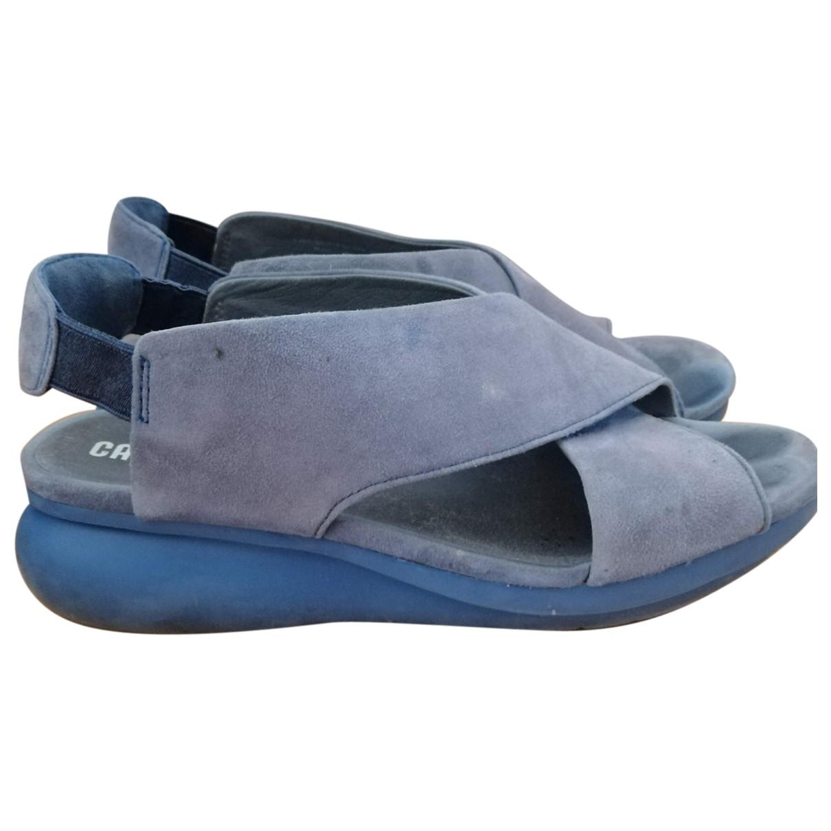 Camper \N Blue Rubber Sandals for Women 40 EU