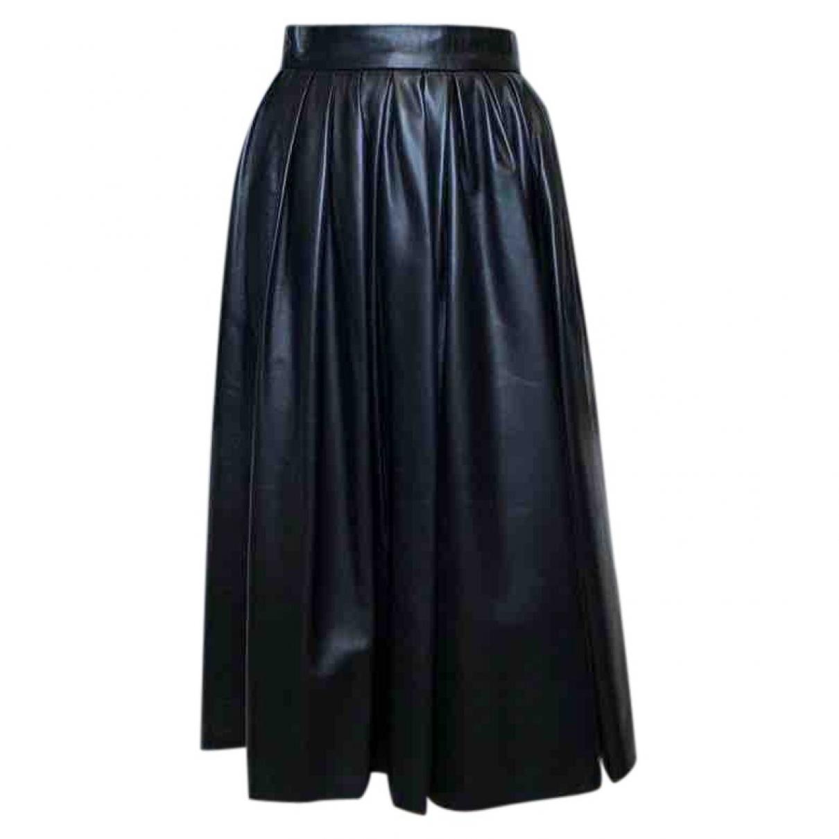 Dsquared2 - Jupe   pour femme en cuir - noir