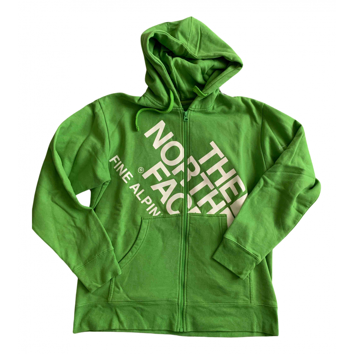 The North Face N Green Cotton Knitwear & Sweatshirts for Men L International