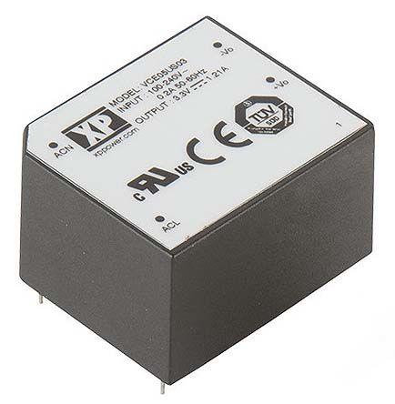 XP Power , 5W AC-DC Converter, 48V dc, Encapsulated
