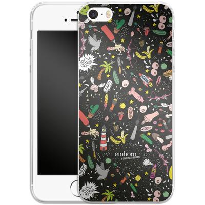 Apple iPhone 5s Silikon Handyhuelle - Penisgegenstaende - by einhorn von Einhorn