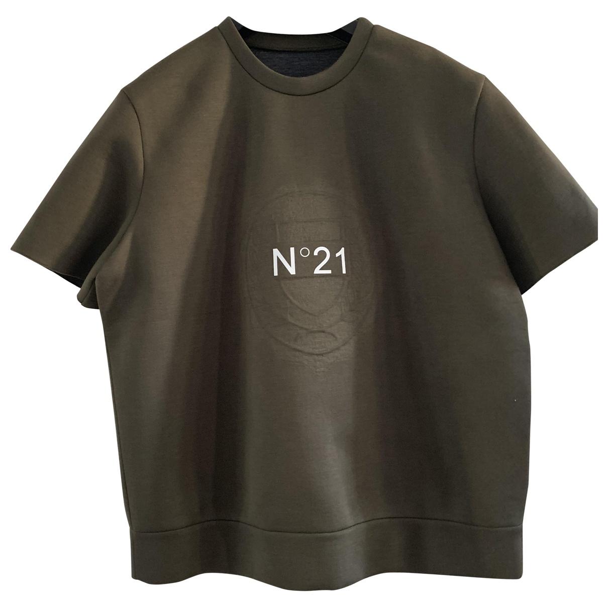 N°21 \N Khaki  top for Women One Size International