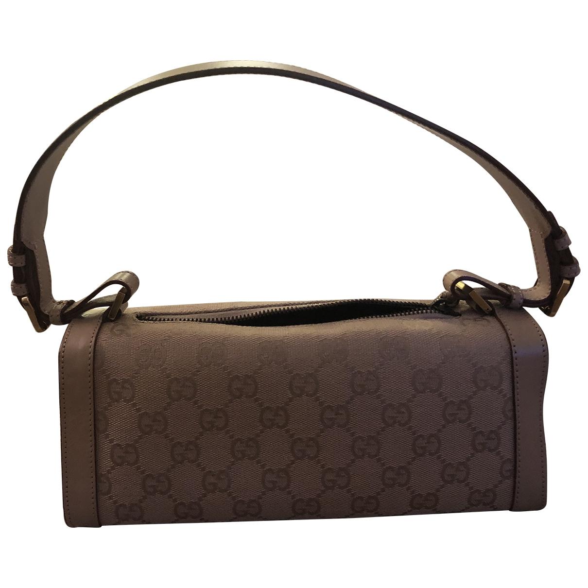 Gucci - Sac a main   pour femme en coton - beige
