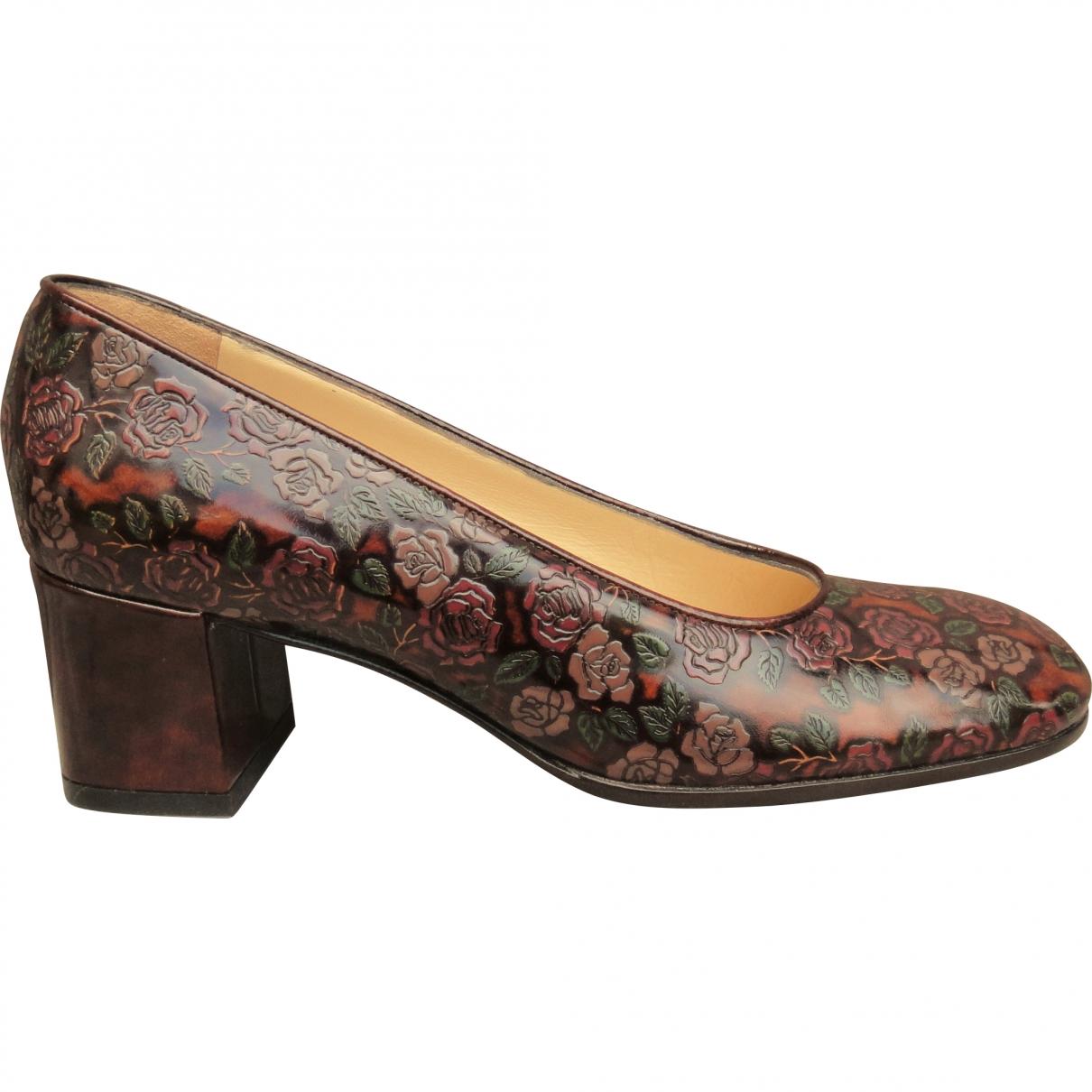 Dolce & Gabbana \N Brown Leather Heels for Women 36.5 EU