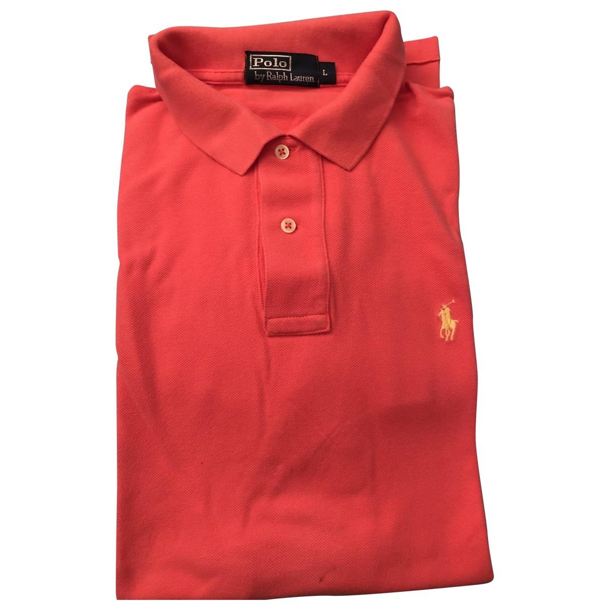 Polo en Algodon Naranja Polo Ralph Lauren