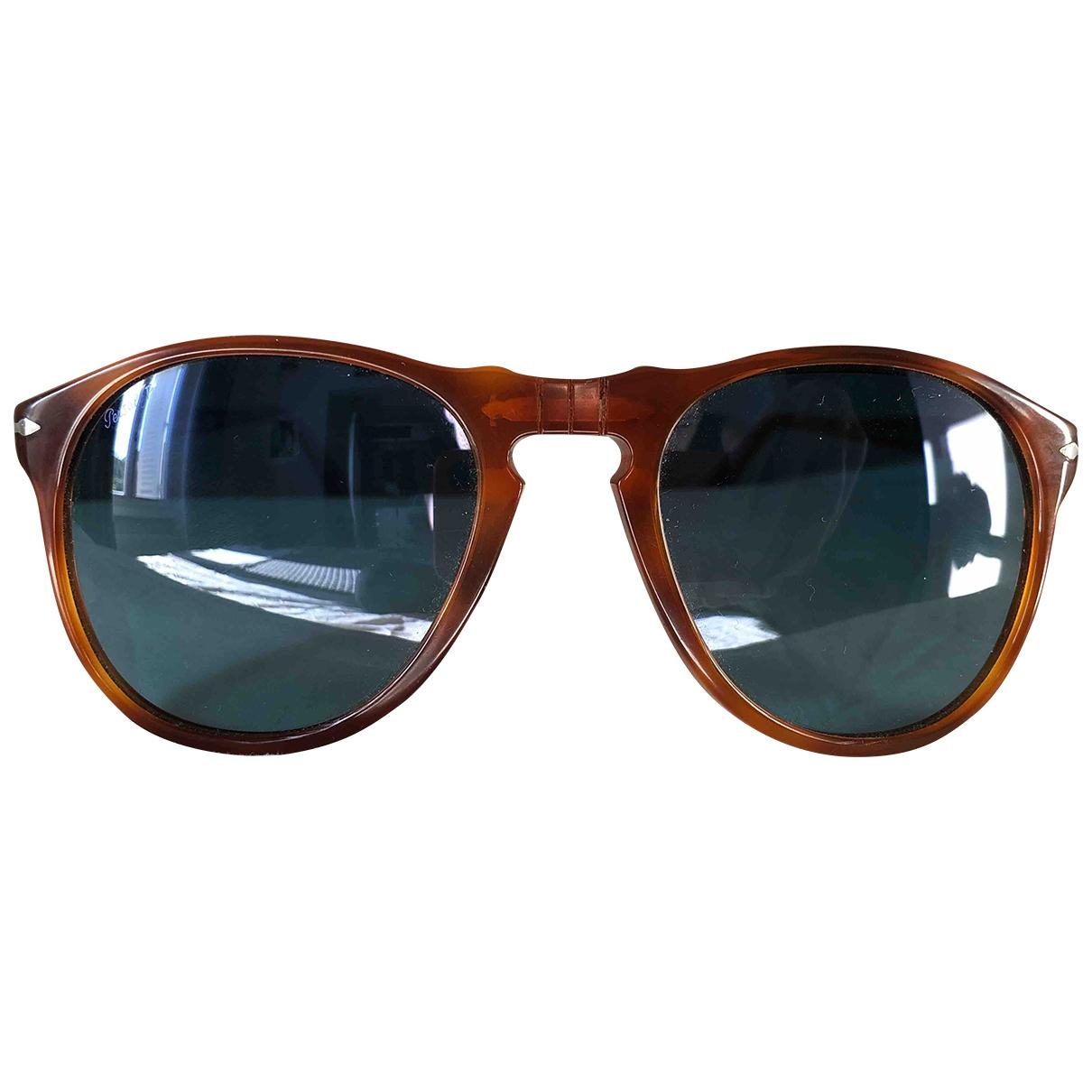 Persol \N Sonnenbrillen in  Kamel Kunststoff