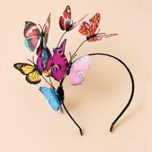Butterfly Decor Hair Hoop