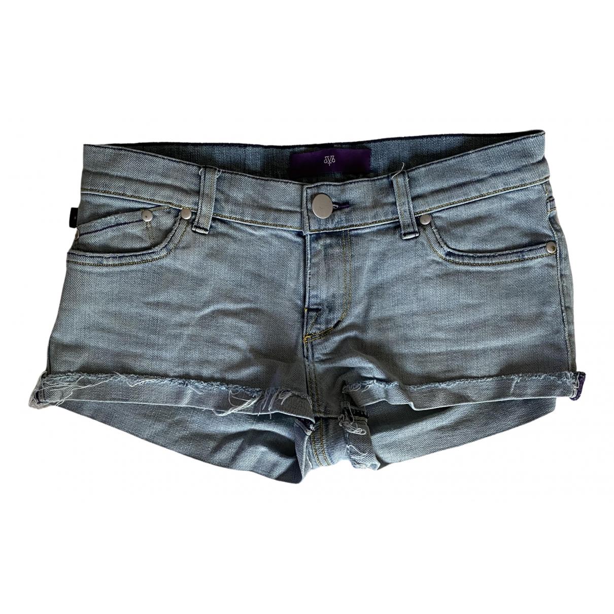Victoria Beckham \N Shorts in  Blau Denim - Jeans