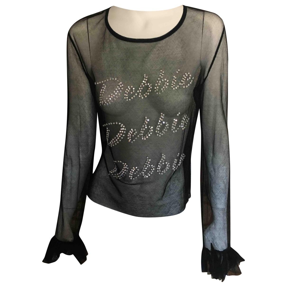 Dolce & Gabbana - Top   pour femme en dentelle - noir