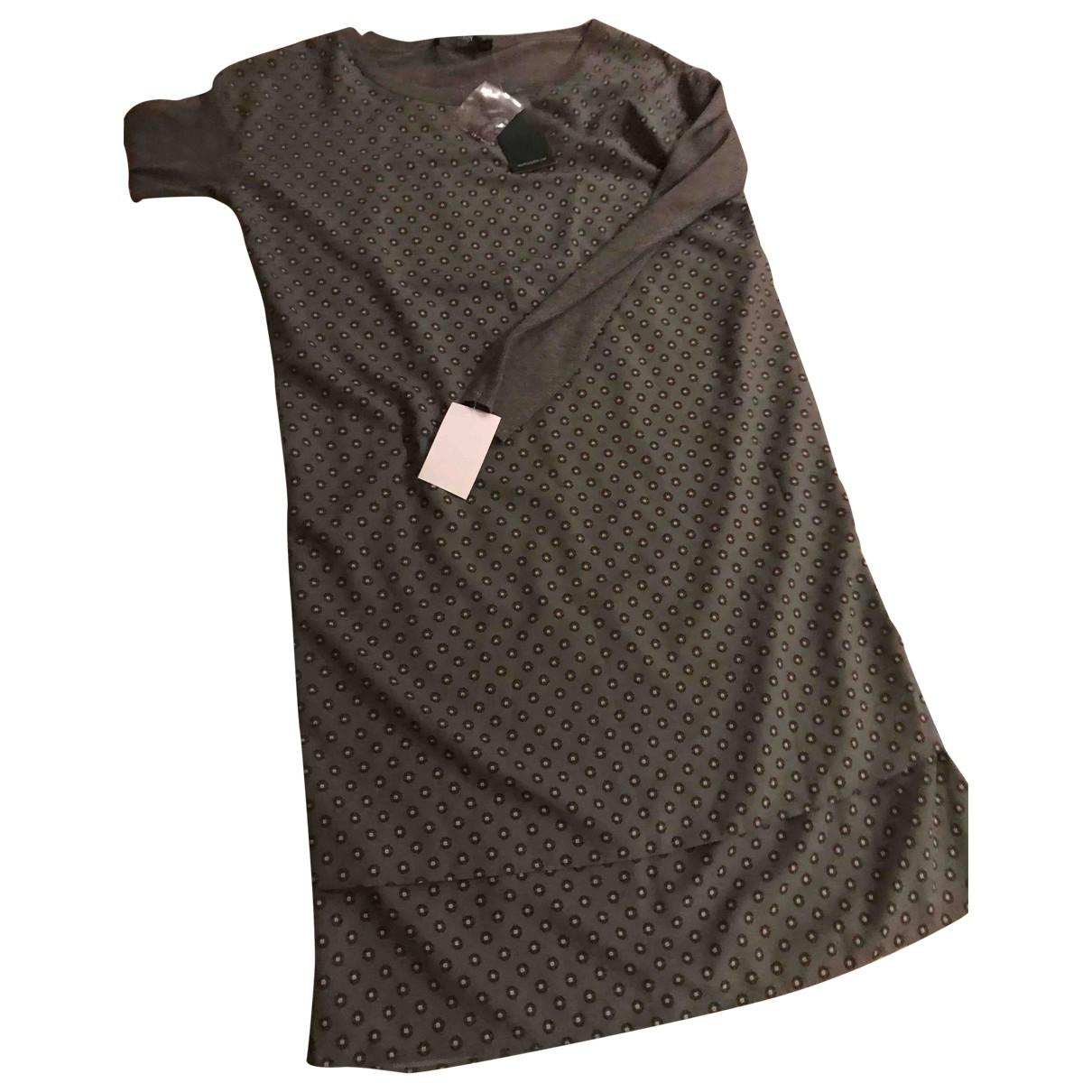 Lauren Ralph Lauren \N Grey Cotton dress for Women XS International