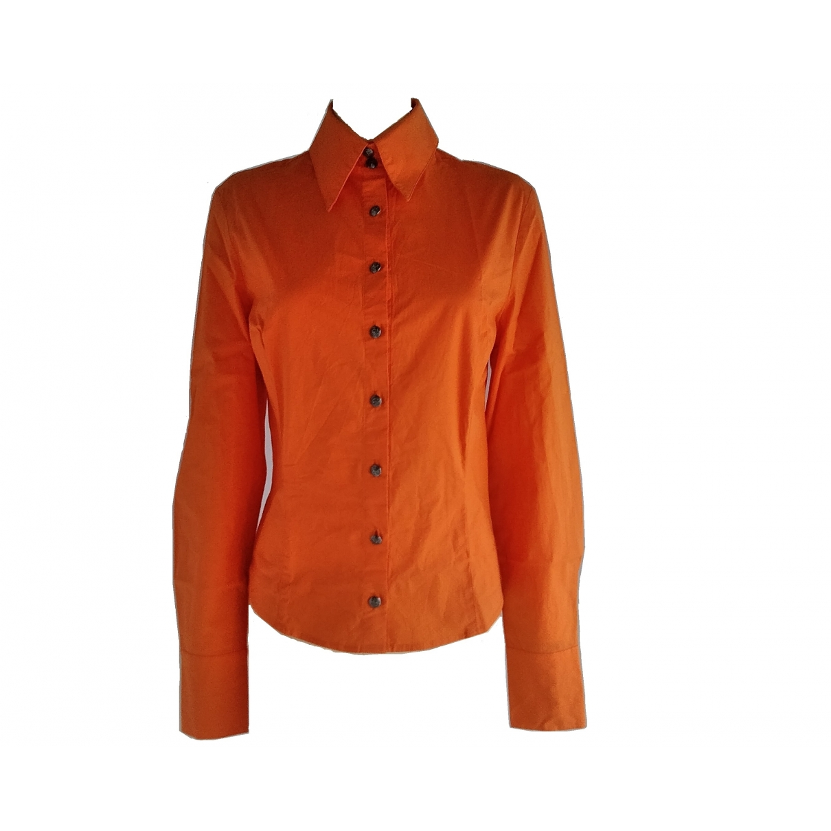 Versace Jeans \N Orange Cotton  top for Women 38 IT