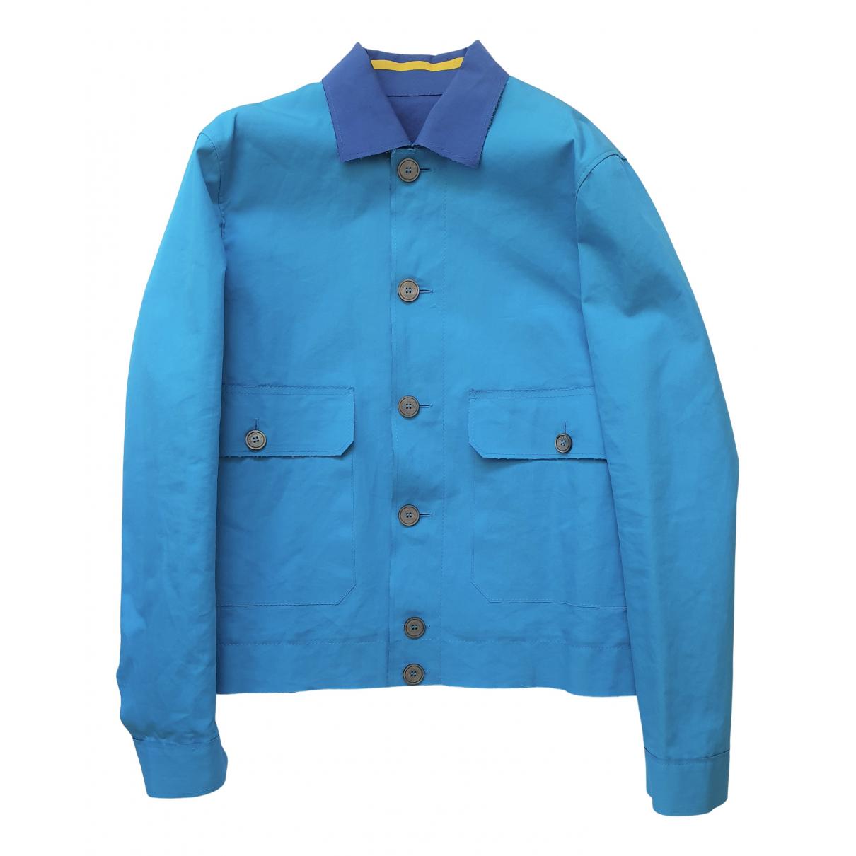 Dsquared2 \N Jacke in  Blau Baumwolle