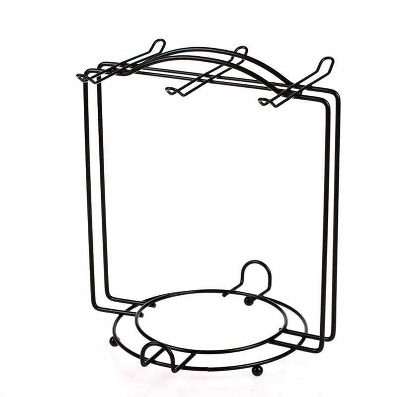 Iron Coffee Cup Storage Rack Kitchen Organizer Plating Dishes Holder Kitchen Accessories Organizer