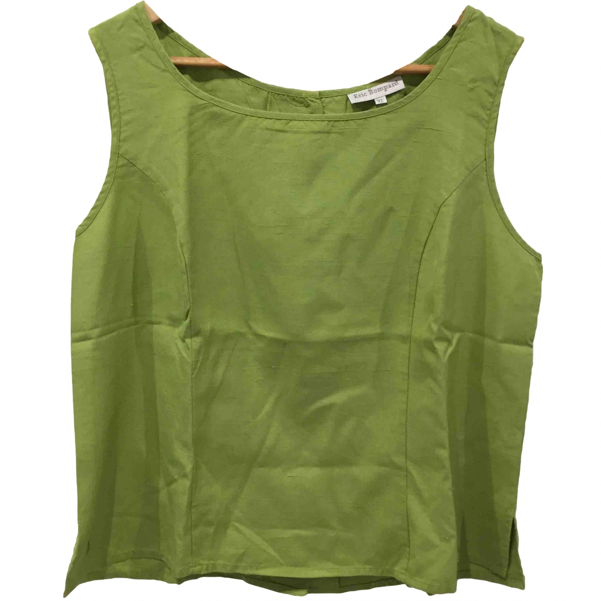 Eric Bompard \N Green Silk  top for Women XL International