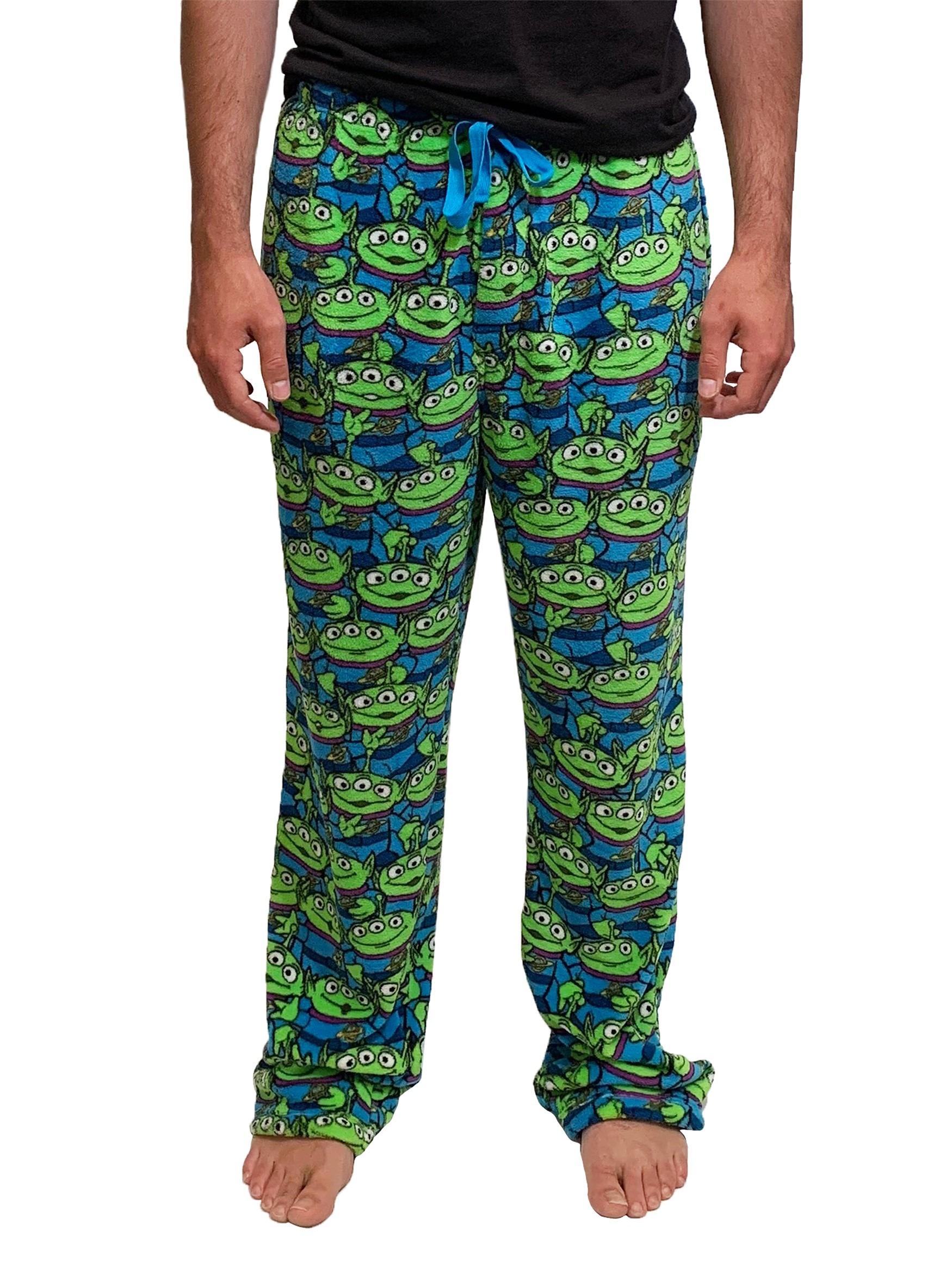 Toy Story Men's Little Green Alien Soft Lounge Pants