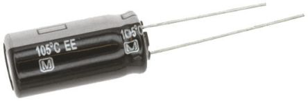 Panasonic 150μF Electrolytic Capacitor 160V dc, Through Hole - EEUEE2C151 (5)