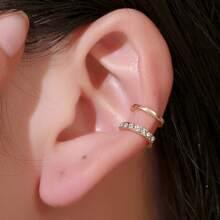 1pc Rhinestone Ear Cuff