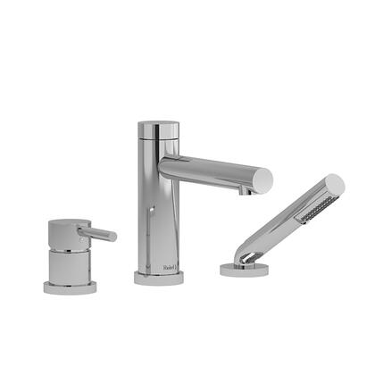 GS TGS10C 3-Piece Deck Mount Tub Filler with Hand Shower Trim  in