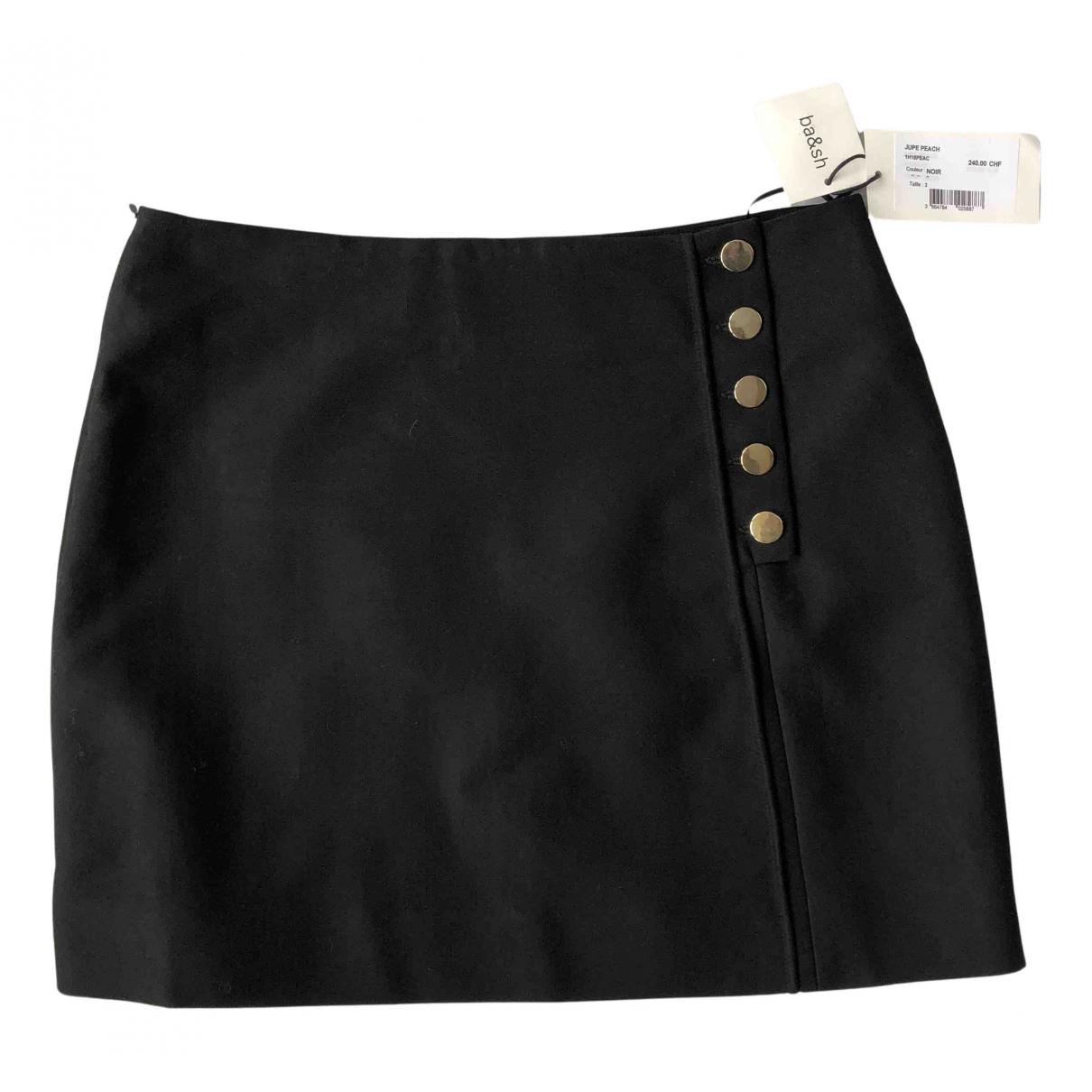 Ba&sh - Jupe   pour femme en coton - noir