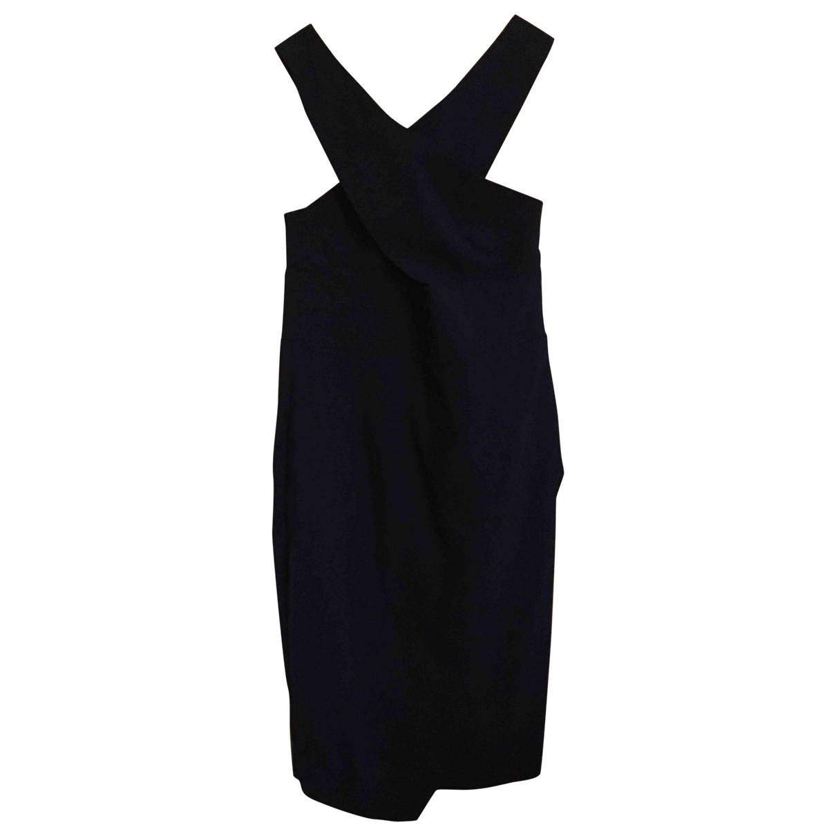 Asos \N Kleid in  Blau Viskose