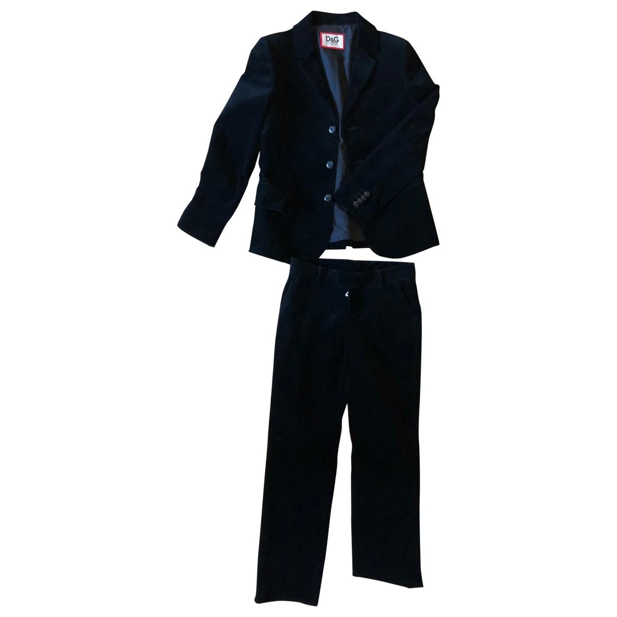 D&g - Les ensembles   pour enfant en velours - noir
