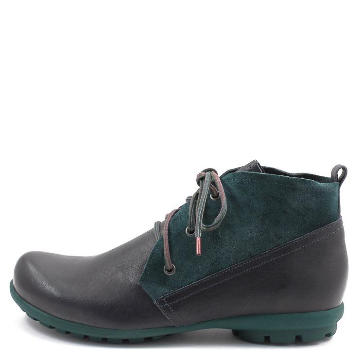 Think, 00085 Kong Men's Lace-up Shoes, dark blue Größe 41