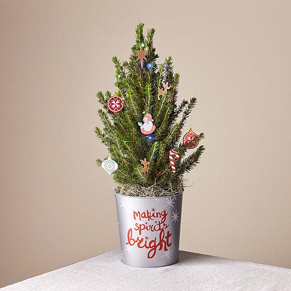 Merry & Bright Tiny Tree