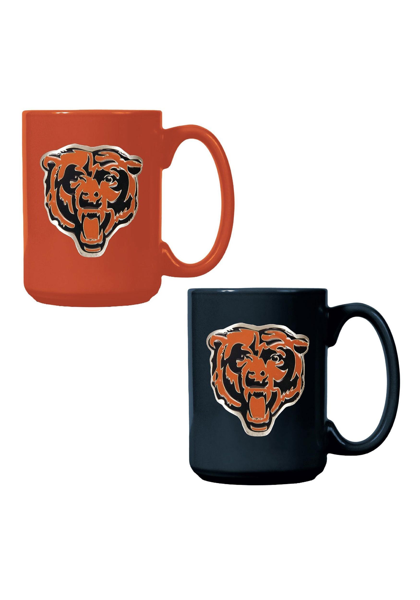 Chicago Bears NFL 15oz. Ceramic Mug Gift Set