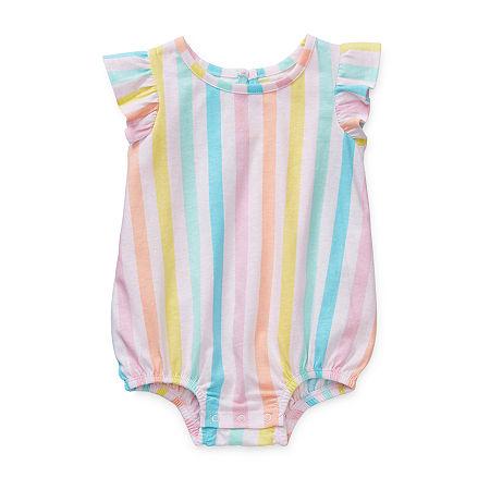 Okie Dokie Baby Girls Baby Creeper, 6 Months , Pink